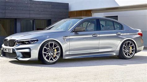 2018 Bmw M5 Unveiled With 600 Ps, Awd And Rwd