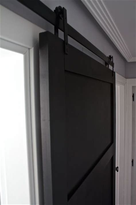 modern sliding barn door kitchen  diy pinterest