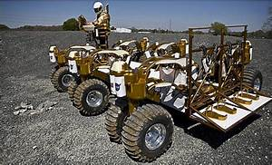 Not a Mercury or Saturn, but It Goes Way Off Road - Constellation Mission Moon Vehicle - NASA ...