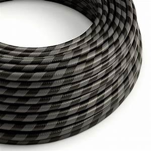 Round Electric Vertigo Hd Cable Covered By Graphite And