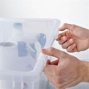 Ikea Boxen Samla : samla verschlussklips f box 45 65 l transparent ikea schweiz ~ Watch28wear.com Haus und Dekorationen