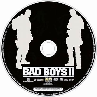 Bad Boys Ii Fanart Dvd Tv Disc