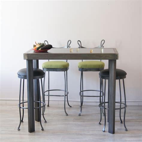 fabriquer une table bar de cuisine fabriquer une table haute meilleures images d