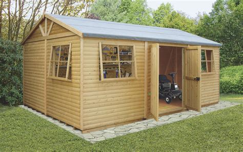 b q garden sheds for sale uk 12 x 24 mammoth wooden shed workshop contemporary