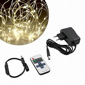 Led Lichtband Mit Batterie : aglaia led lichterkette kupferdraht dimmbar sternenlichter ~ Jslefanu.com Haus und Dekorationen