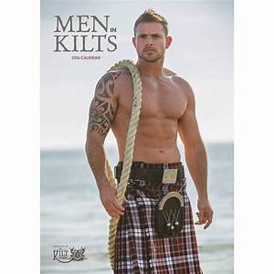 Calendar, Men in Kilts Year - 2016 Calendar -coming soon ...