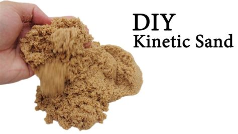 diy kinetic sand make your own kinetic sand with eye drops sand watercolor glue easy simple diy