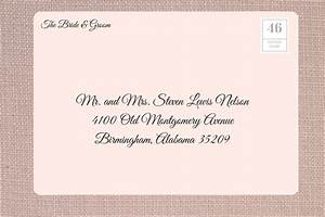 how to address wedding invitations southern living With wedding invitation address website
