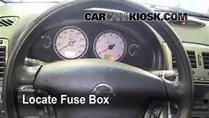 Interior Fuse Box Location  2000-2003 Nissan Maxima