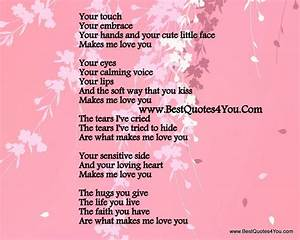 I Love My Girlfriend Poems | cute-love-poems-for-my ...