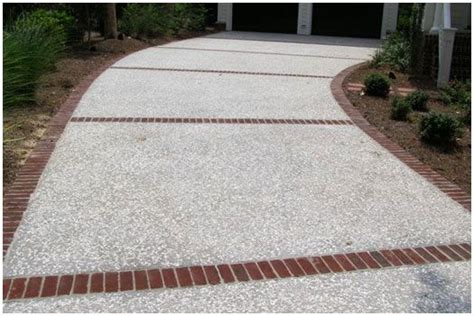 oyster shell and cement driveway outdoor home