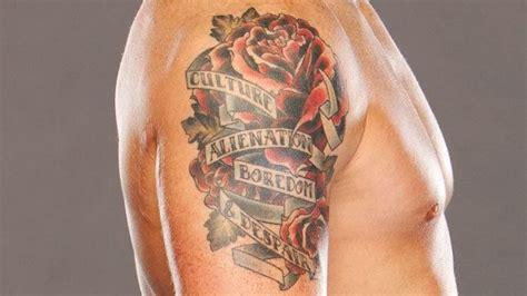 top  coolest wwe superstar tattoos wrestling amino