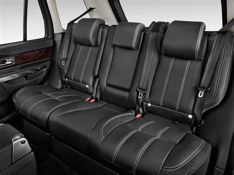 2013 Land Rover Range Rover Sport Rear Seats Interior