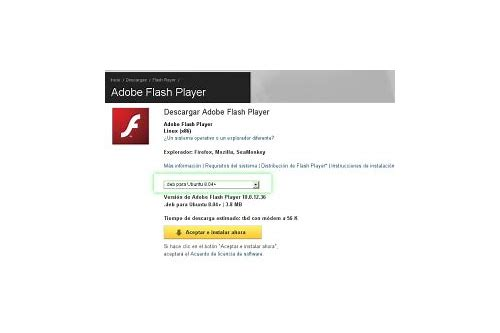 descargar adobe flash player para firefox 14.04 lts
