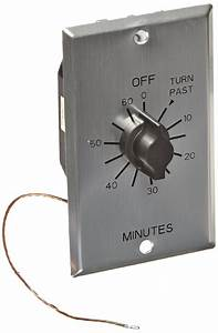 Mechanical Sauna Timer For 110-240 Vac