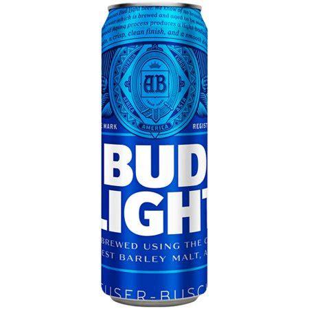 bud light can bud light 25 fl oz can walmart