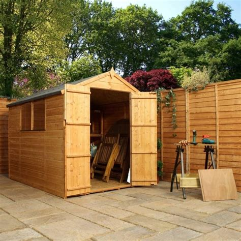 Garden Shed 8x6 Best Price by Mercia 8x6 Shiplap Apex Shed Door