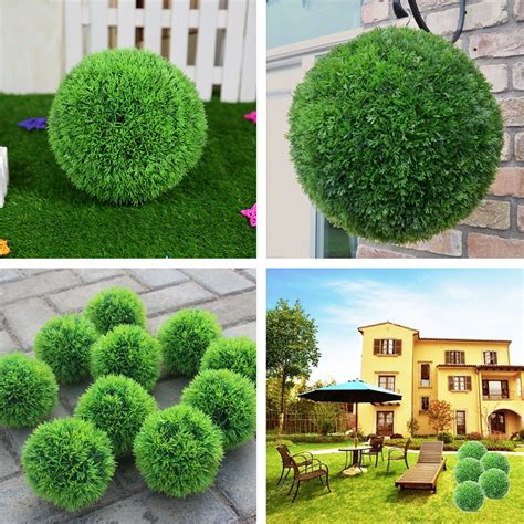 25cm2835cm Conifer Topiary Ball Tree Boxwood Wedding