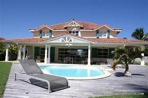 location villa luxe guadeloupe quotvilla caribquot 5 chambres 5 With location villa bord de mer avec piscine 0 location guadeloupe villa de luxe avec piscine