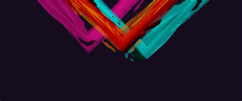 Minimalistic Abstract Colors Simple Background 5k HD
