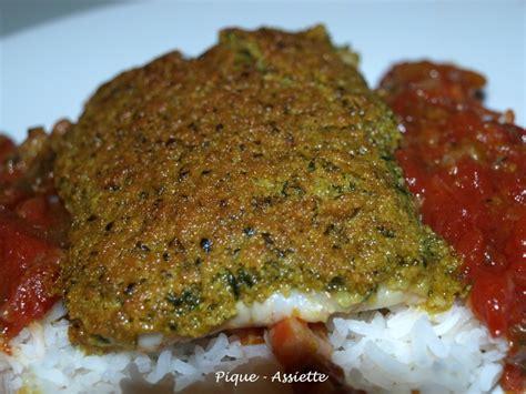 cuisiner dos cabillaud dos de cabillaud en croute de curry pique assiette
