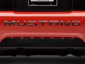 black chrome vinyl mustang bumper insert letters 99 04 gt With chrome mustang bumper letters