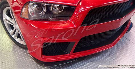 custom dodge charger sedan front bumper