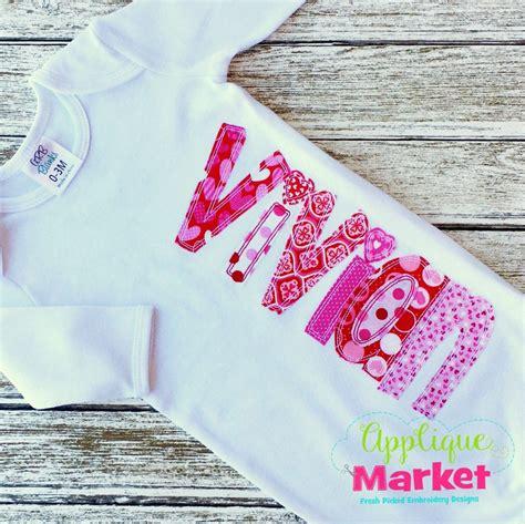 applique market whimsey block applique bean stitch