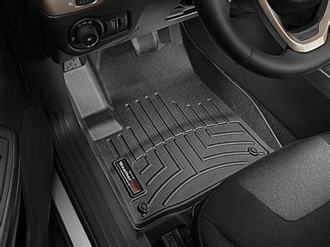weathertech floor mats jeep weathertech 445661 digitalfit front floor liners in black for 14 15 jeep cherokee kl quadratec