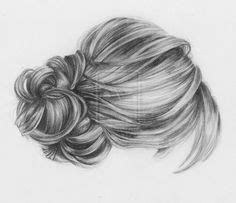 hair bun drawing google search anatomy pinterest