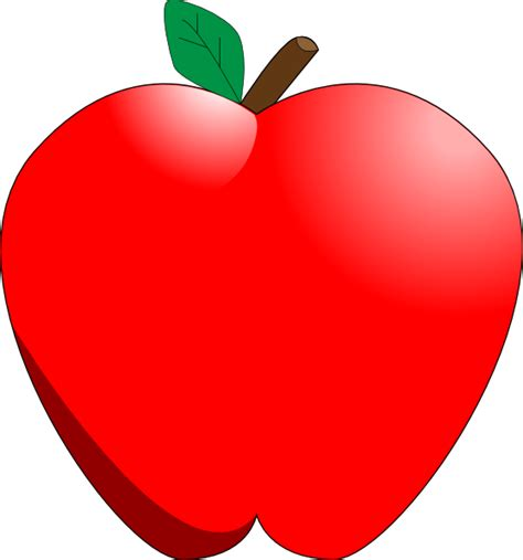 Red clipart apple tree, Red apple tree Transparent FREE ...