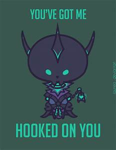 These 'League of Legends' Valentine's Day Cards are Clever ...