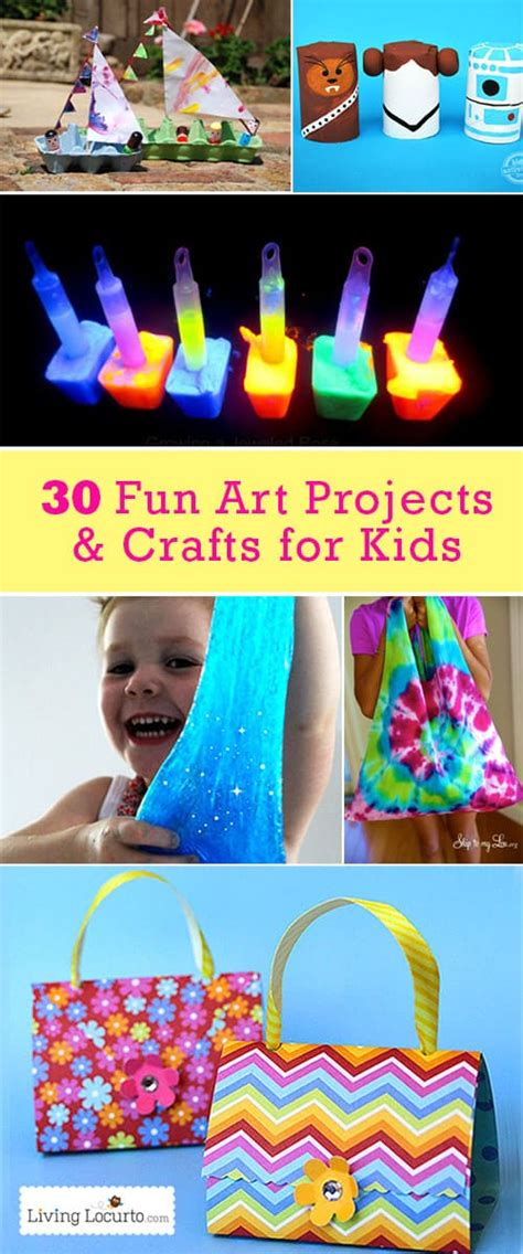 easy art projects crafts  kids summer kids