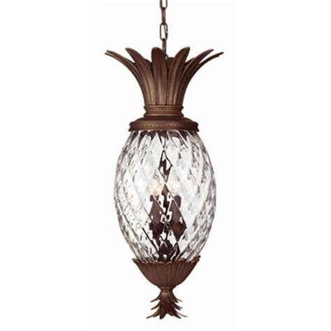 pineapple hanging light fixtures plantation exterior suspension from lightology