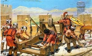Roman siege engines were, for the most part, adapted from ...