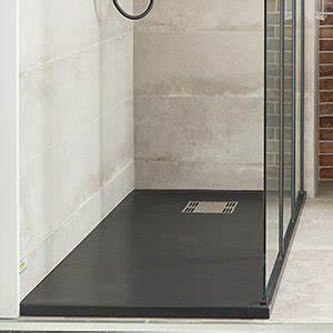 douche salle de bains leroy merlin With porte d entrée alu avec salle de bain receveur gris