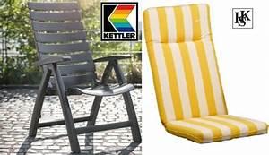 Kettler Hochlehner Auflagen : kettler hks sessel rimini hochlehner anthrazit auflage gelb weiss ~ Watch28wear.com Haus und Dekorationen