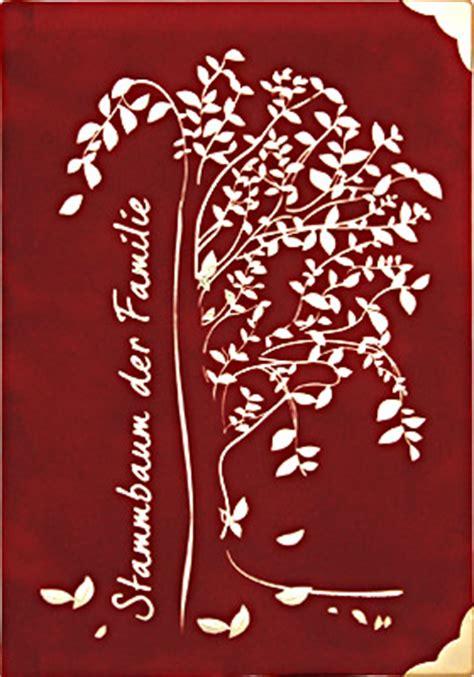 stammbuch siebert exclusive stammbuecher alben stammbaum