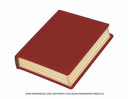 Clip Clipart Books Closed Blank Cliparts Template