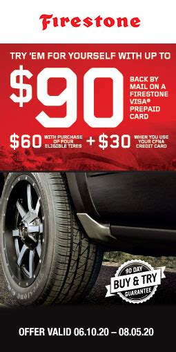 No change, vouchers or refunds will be given on the remaining balance. 2020 Firestone Summer | Plaza Tire Service
