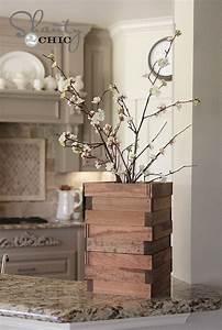 Objet Bambou Faire Soi Meme : des objets en bois faire soi m me pour sa d co voici 15 exemples ~ Melissatoandfro.com Idées de Décoration