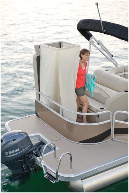 Pontoon Boats With A Bathroom by Pontoon Boat With Bathroom Secrets You Otherwise
