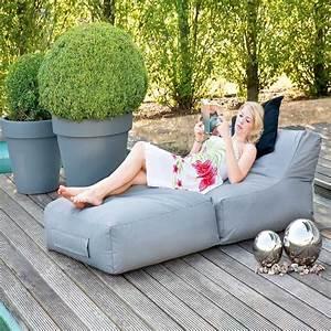 liegesack trocios in rot outdoor wohnende With französischer balkon mit garten sitzsack outdoor