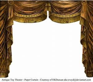 paper theater curtain topaz by eveyd on deviantart With gold curtains png