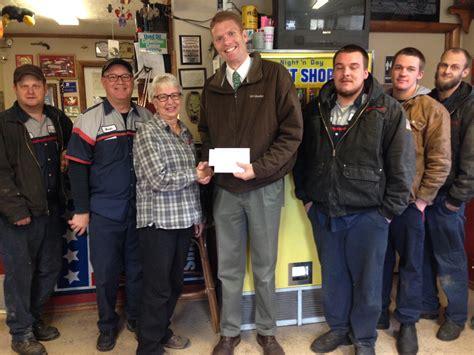 employees donate    santa money  laverkin