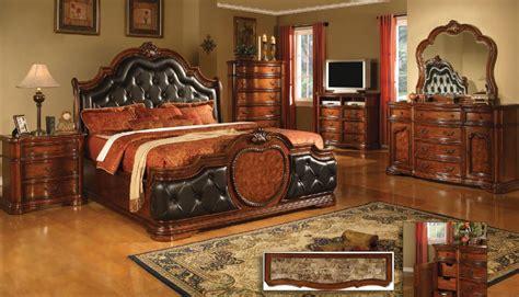 Bedroom Set With Marble Top by Coronado Cherry W Marble Top Bedroom Set By Mainline