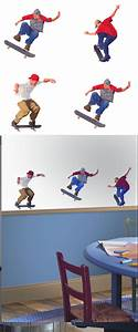 skateboarding kidifexs wall stickers With good look skateboard wall decals