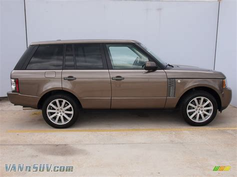land rover range rover supercharged  nara bronze