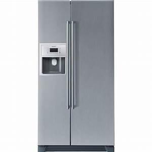 Refrigerateur Congelateur Americain : siemens ka58na45 r frig rateur am ricain achat vente ~ Premium-room.com Idées de Décoration