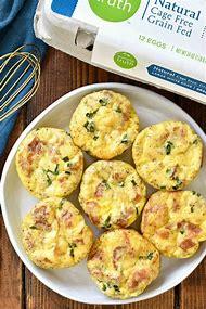 Easy Egg Muffins for Breakfast